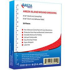 """Bordered Gauze (Island Dressing) 6"""" x 6""""  (Box of 30)"""