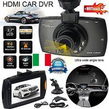 """VIDEOCAMERA DVR REGISTRATORE AUTO ALFA ROMEO GIULIETTA MITO GT 159 HD 2,7"""" 1080P"""