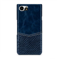 TETDED Premium Leather Case for BlackBerry KEYone Caen Venus Blueberry/Blue SK
