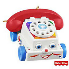 2009 Hallmark FISHER PRICE Ornament CHATTER TELEPHONE Toy Phone