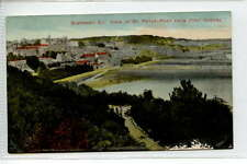 (Gc402-374) St. Peter Port from Fort George, GUERNSEY c1920 Unused F-G