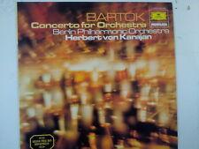 LP BARTOK Conceto for Orchestra Herbert v Karajan