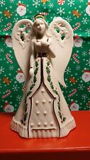 """LENOX """" HOLIDAY ANGEL BELL""""  FIGURINE  --- NEW IN BOX"""