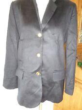 Johnstons,Made in Scotland,100%Cashmere Navy blue Blazer/Jacket,Smart/Casual