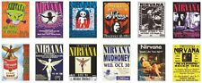 Nirvana Concert Posters Trading Card Set