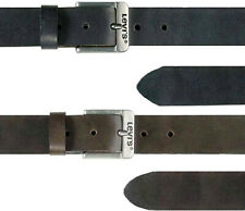 Levi's Brown and Black Leather Belts for Jeans Sizes 28 - 44 Men's 5117 Free