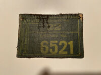 1919 Pennsylvania PA Resident Hunter's License County 22 Vintage