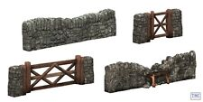 44-580 Scenecraft OO Gauge Dry STe Walling and Gate