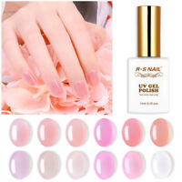 RS Nail Gel Nail Polish UV LED Varnish Soak Off Semi Jelly Gel Colour 15ml