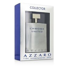 Loris Azzaro Chrome United EDT Spray (Collector Edition) 100ml Men's Perfume