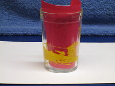 1941 VINTAGE WORLD WAR II U.S. SUBMARINE S-20 NAVY DRINKING GLASS EXCELLENT