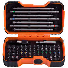 Bahco Driver Bits 54 Piece Set - Slotted Phillips Pozi Hex Robertson Torx Tamper