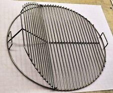 """KG 63039 SNS 25.5"""" Round BBQ Stainless Grill Cooking Grate-  Weber replacement"""