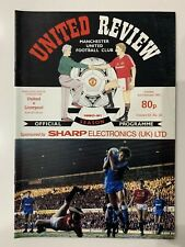 MANCHESTER UNITED v LIVERPOOL - 1991 Division One - FREE UK POST