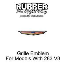 1961 Chevy Grille Emblem - For Models With 283 V8
