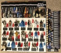 Star Wars Saga Collection TSC - 20 Complete Loose Figures With Cards (Hasbro)