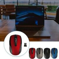 2.4GHz Wireless Optical Mouse Mice & USB Receivers For PC Laptop Computer Mices