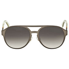Fendi Dark Grey Gradient Aviator Sunglasses