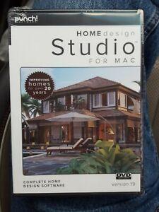 Punch! Software Home Design Studio for Mac V19 - DVD Format - Sealed, Ships Free