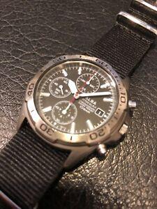 SEIKO ALBA 7t92-0df0 titanium quartz watch