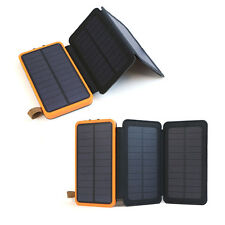 300000mAh Solar Panel External Battery Charger Power Bank For Cell Phone Tablets