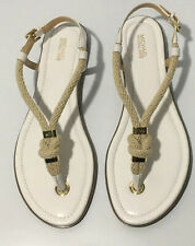 Michael Michael Kors  Holly Sandals in White in Women Size 11
