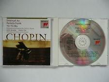 Emanuel Ax, Pamela Frank & Yo Yo Ma play Chopin Trio & Polonaise Sony 53112 CD