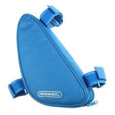 Satteltasche in Blau für Fahrräder