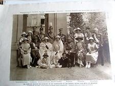 FAMILLES ROYALES DE ROUMANIE ET YOUGOSLAVIE 1922 SC 2250 ILLUSTRATION ANCIENNE