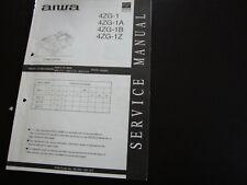 Original Service Manual Schaltplan Aiwa 4ZG-1 /A/B/Z