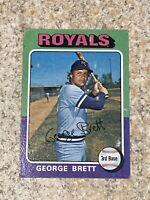 1975 Topps #228 George Brett Kansas City Royals RC Rookie HOF