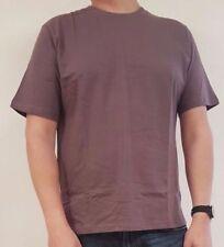 Einfarbige Kurzarm Herren-T-Shirts in normaler Größe