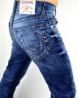 True Religion $249 Men's Misty Hallway Red Big T Relaxed Slim Jeans - 101120