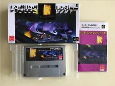 RENDERING RANGER R2 - BOXED SFC NTSC-J SUPER FAMICOM - BEST REPRO A++ GRADE READ