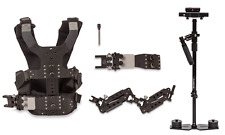 (4-10lbs) Flowcam 4000 Steadicam Stabilizer + Dual Arm Vest Video Camera DSLR
