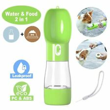 Portable Pet Dog Water Bottle For Small Large Dogs Travel Puppy Drinking Bowl
