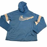 Nike Hoodie Youth Extra Large XL Blue Hoodie Girls 2454