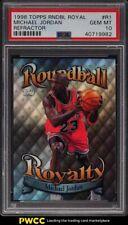 1998 Topps Roundball Royalty Refractor Michael Jordan #R1 PSA 10 GEM MINT