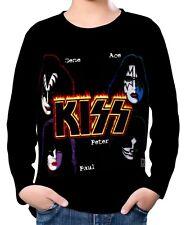 Kiss Kinder Jungen Langarm T-Shirt wc2 ael20068