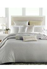Hotel Collection Finest Silver Leaf Queen Duvet Cover+2Standard Shams+Bedskirt.