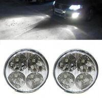 DRL Daytime Running Fog Lights Lamps E-Marked For VW Volkswagen Golf Passat Polo