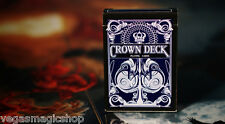 Crown Deck Blue V2 Playing Cards Poker Size USPCC Custom Limited Edition Sealed
