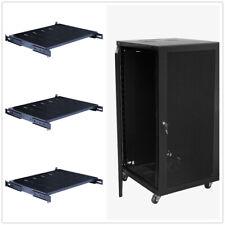 18U Wall Mount Network Server Cabinet Rack Enclosure Lock Door 22.75