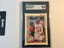 1992-93 NBA Hoops Supreme Court Michael Jordan Bulls HOF SGC 9 Min