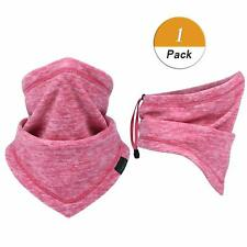 Winter Polar Fleece Neck Gaiter Ski Snowboard Cycle Bike Warmer Scarf Face Mask
