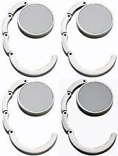 4 x Metall Handtaschenhalter Taschen Halter Elegant NEU