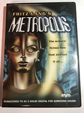 Metropolis (Dvd, 2003, Front Row Edition ) Fritz Lang's 1927 Cult Classic