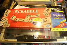 Scrabble Game and Bonus Book! Scrabble Official Word List FACTORY SEALED  JSH