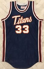 Vintage W.A. Goodman's Cal State Fullerton TITANS 1980's Game Jersey NCAA Sz 48