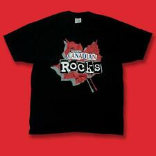MOLSON CANADIAN ROCKS - VINTAGE BEER, ALE GRAPHIC LOGO T-SHIRT *NEW* / SZ. XL